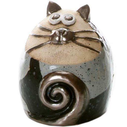 Tabby Fat Cat Figurine | Chic Compilation