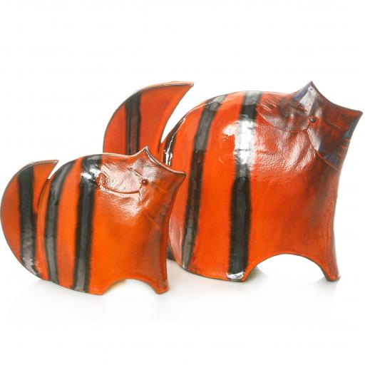 Stylish Ceramic Cat | Ginger | 3 Sizes | Candid Range