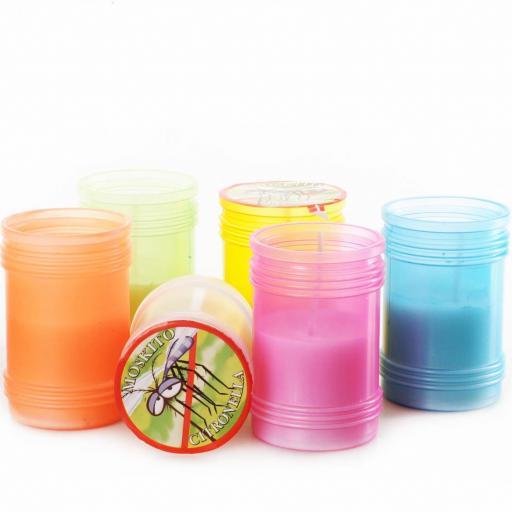 Citronella Small Lantern in 6 Colours Supplied at Random