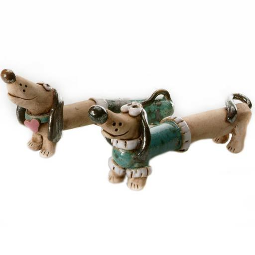 Mr & Mrs Dash Quirky Dachshunds Wedding Gift | Teal