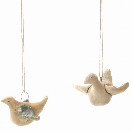 Ceramic Mini Flying Birds | Gift Boxed