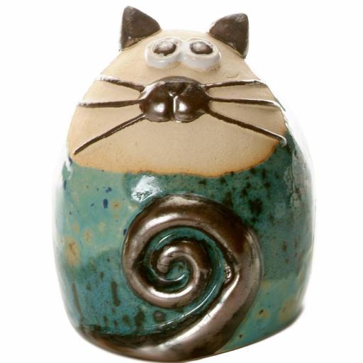 Tabby Fat Cat Figurine | Modern Compilation