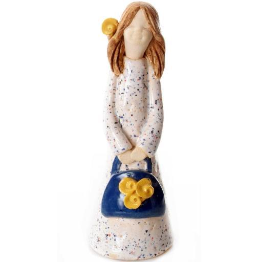 Handbag Holding Ceramic Statuette   Armani Girl