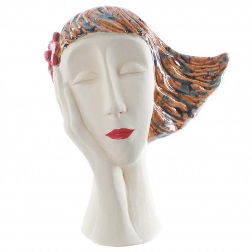 Art Deco Head | Chestnut