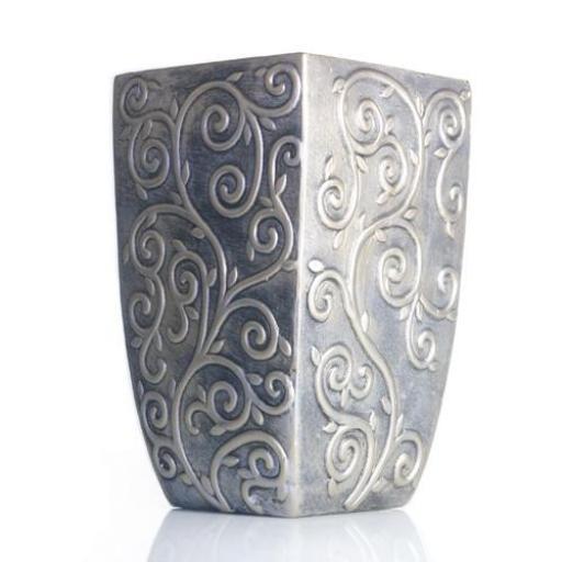 Gold Ceramic Wide Vase or a Plant Pot Large