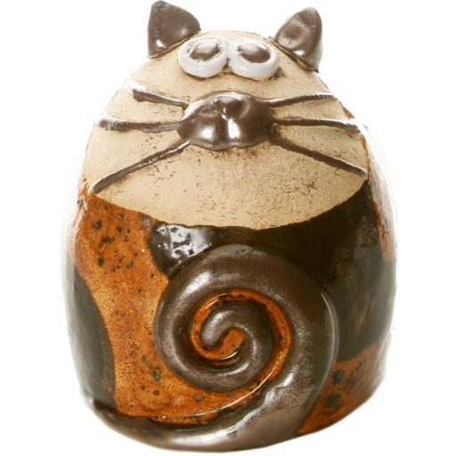 Tabby Fat Cat Figurine | Country Feel Compilation