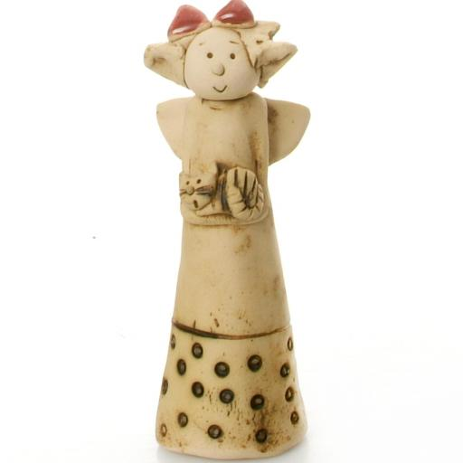 Ceramic Angel | Cat | May all Your Dreams Come True