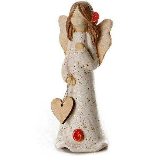 Guardian Angel Figurine with a Sentiment Card |Get Well Soon