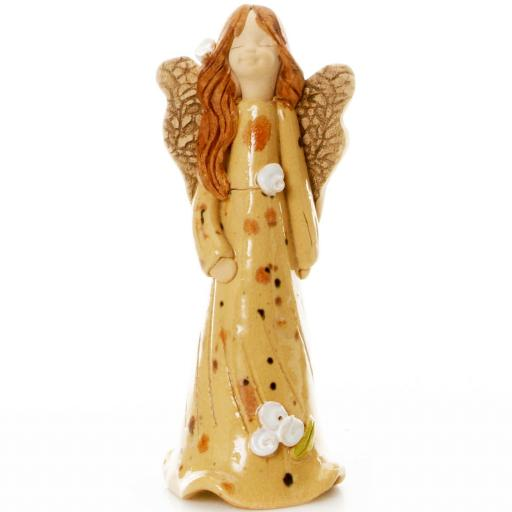 Guardian Angel Figurine with a Sentiment Card | Angel of New Beginnings | Set of 3 Asst Col