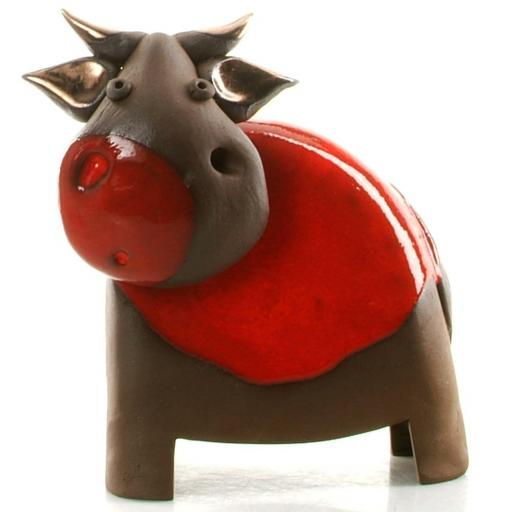 Stylish Ceramic Cow | Available in 6 colours | Candid Range