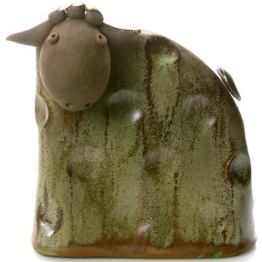 Stylish Ceramic Sheep | Olive | Candid Range