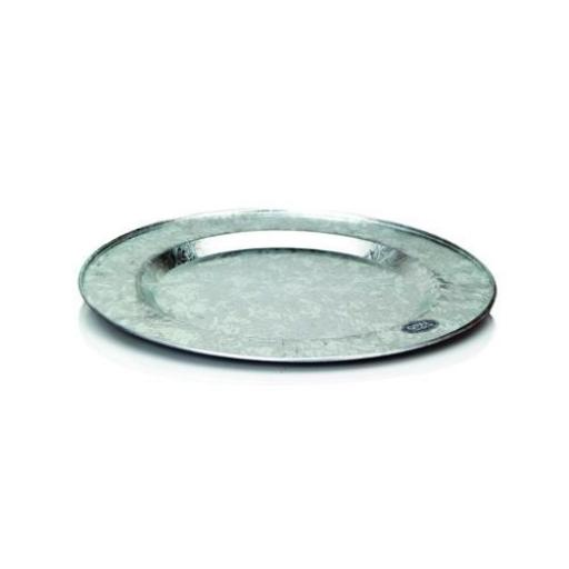 Galvanized Charger Plate.