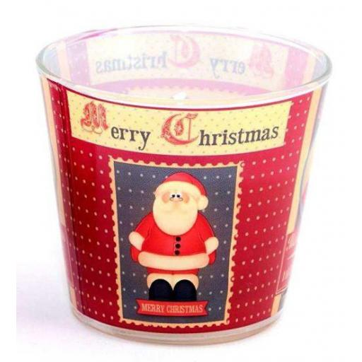 Xmas Candle Decor | Clementine and Cupcake Fragrance