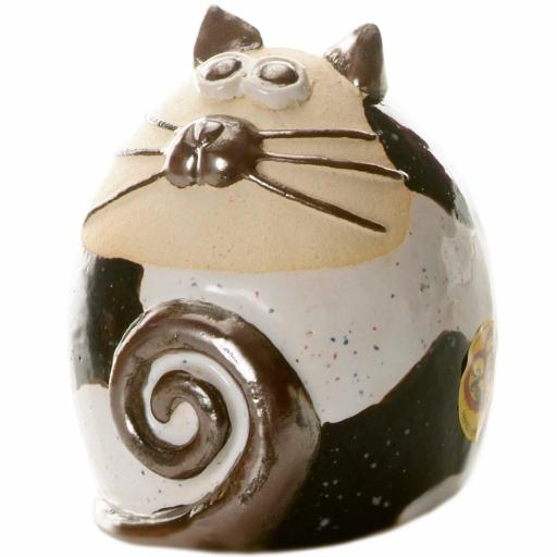 Tabby Fat Cat Figurine | Contemporary Compilation