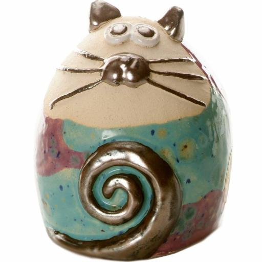 Tabby Fat Cat Figurine | Cool Compilation
