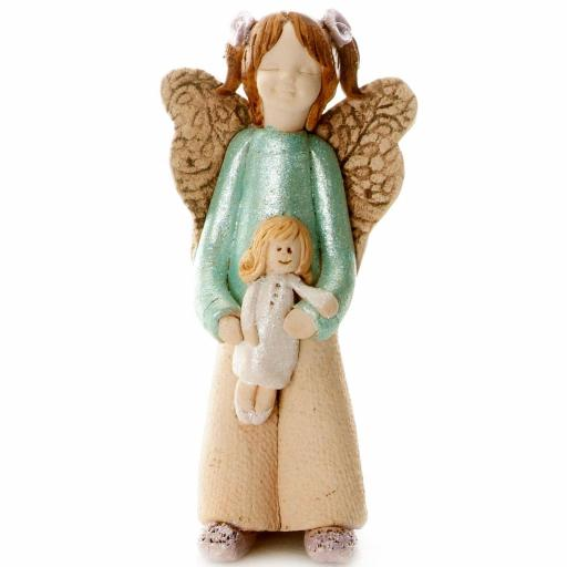 Guardian Angel with a Sentiment Card | There is only one pretty Child in the World and every Mother has it