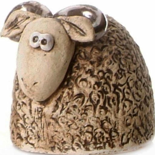 Ceramic Ram Figurine | Natural