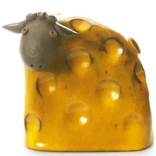 Stylish Ceramic Sheep | Mustard | Candid Range