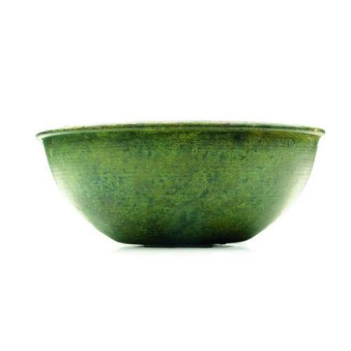 Versatile Use Verdigris Brass Bowl