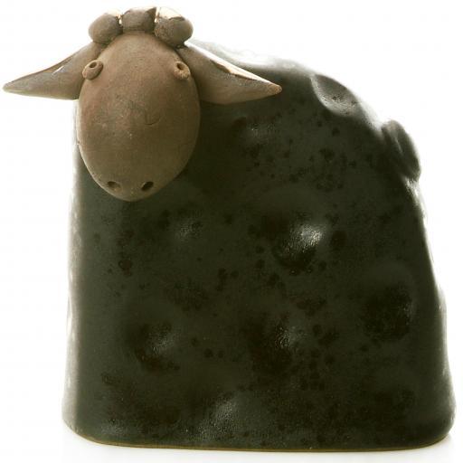 Stylish Ceramic Sheep | Black | Candid Range