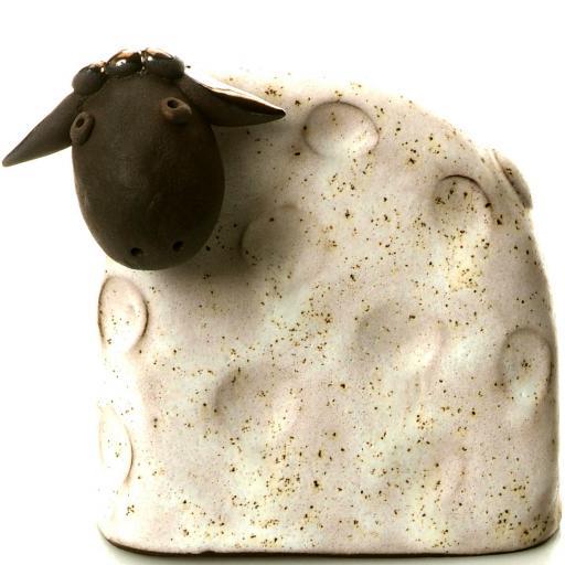 Stylish Ceramic Sheep | White | Candid Range