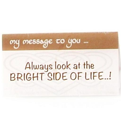 Always look at the Bright Side of Life