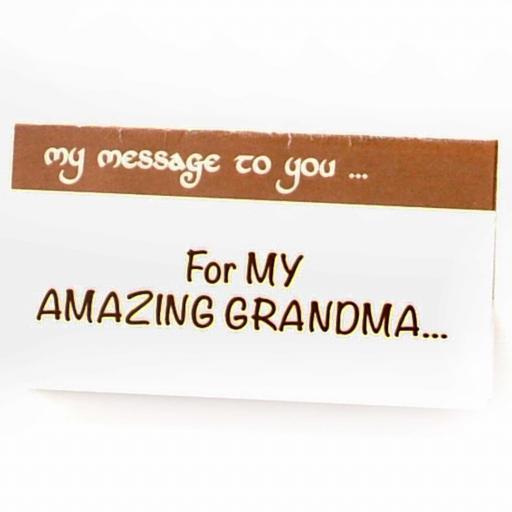 For my amazing Grandma
