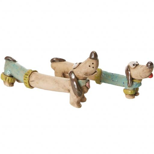 Mr & Mrs Dash Quirky Dachshunds Wedding Gift | Turquoise