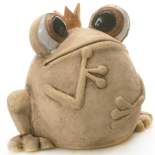 Quirky Frog Natural | Gold Crown