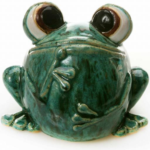 Quirky Frog Green
