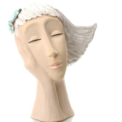 Art Deco Head | Platinum